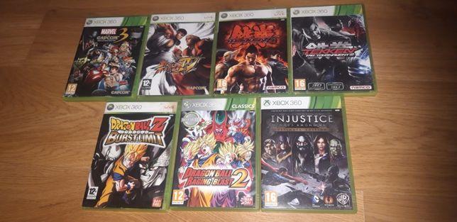 gry xbox 360 BIJATYKI Tekken,Injustice ,Dragon Ball