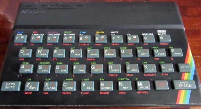 ZX Spectrum - vintage