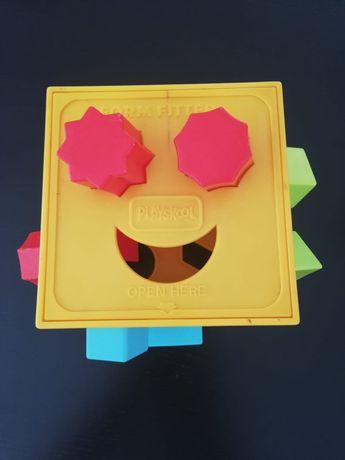 Brinquedo Playskool form fitter anos 80