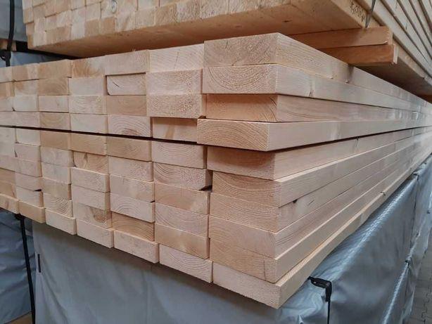 drewno konstrukcyjne C24 45x170/195 6 m suche strugane belki świerk