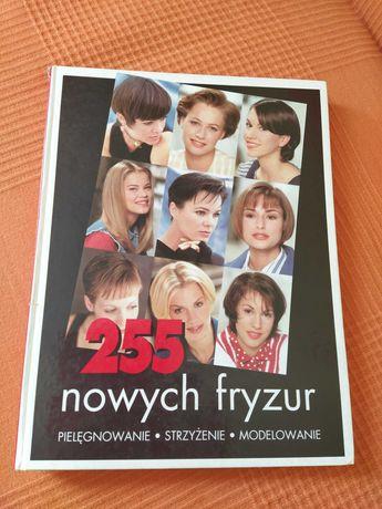 """Książka """" 255 nowych fryzur """""""