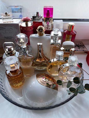 Женская парфюмерия, начатые и новые в слюде Lalique Mancera Guerlain