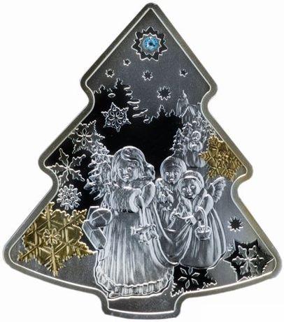 """Ниуэ 2 доллара 2014 """"Рождественская елка"""""""