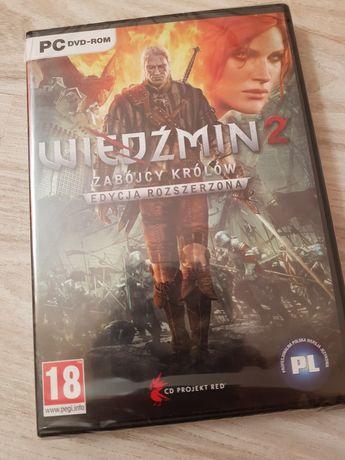 PC gra Wiedzmin 2 edycja rozszerzona