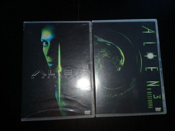 Vendo 2 Filmes do Aliens