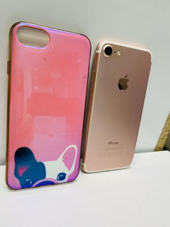 iPhone 7 32GB Różowy / Rose Gold / Nowa bateria / Stan BDB / GWARANCJA