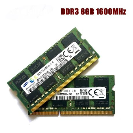 Memórias RAM DDR3L 1600Mhz 8Gb para Portátil