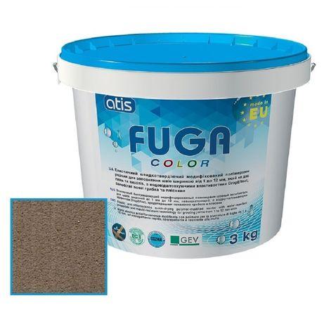 Затирка для плитки Atis Fuga Color A142/3кг коришнева