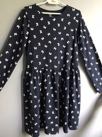 Bawełniana sukienka dla dziewczynki