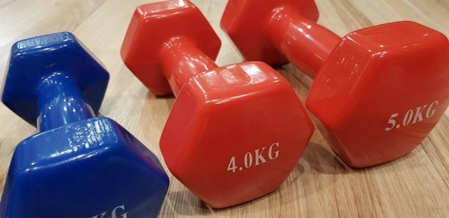 Hantelki winylowe aerobik fitness