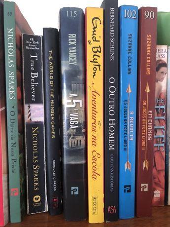 Livros variados para venda