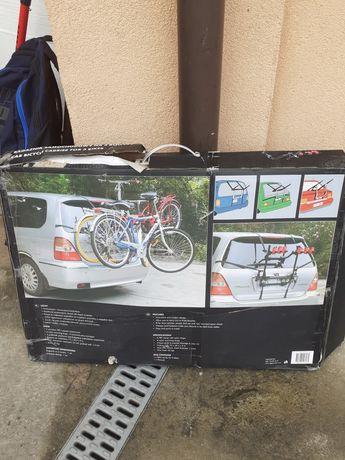 Bagażnik samochodowym  na trzy rowery