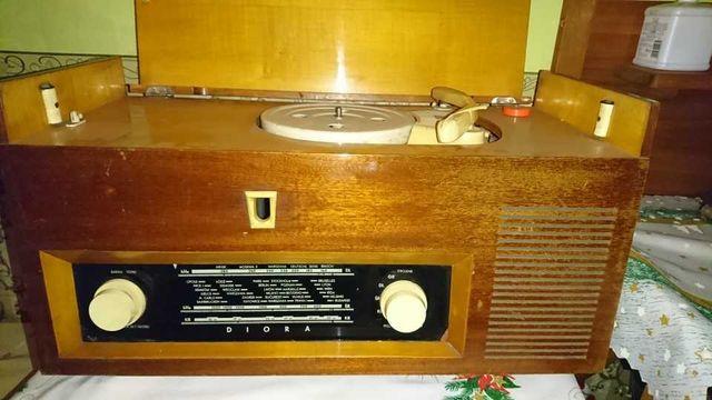 Radio lampowe Diora Barkarola