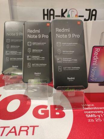 Telefon komórkowy Xiaomi Redmi Note 9 Pro 6GB RAM 128GB ROM Faktura Va