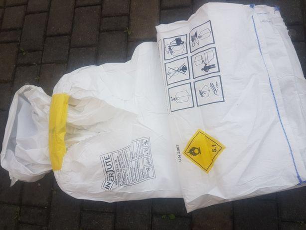 Worki big bag Nowe 62,5x62,5x140 cm 1 uchwyt kiszonka