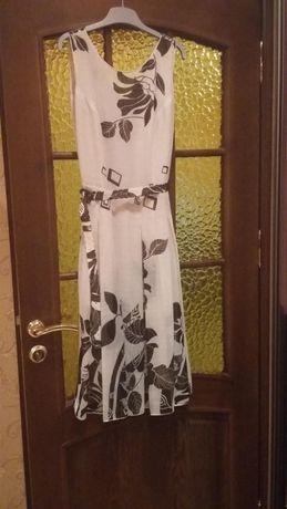 Платье с накидкой, легкий летний костюм