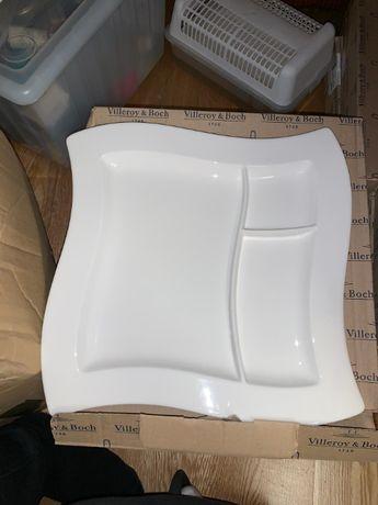 NewWave grill plate branco Villeroy & Boche