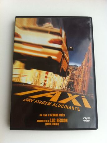 DVD - Taxi - Uma Viagem Alucinante