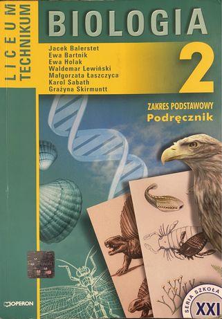 Biologia 2 - liceum, technikum (podręcznik)