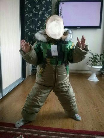 Комбинезон, костюм зимний для мальчика от 4 до 6 лет