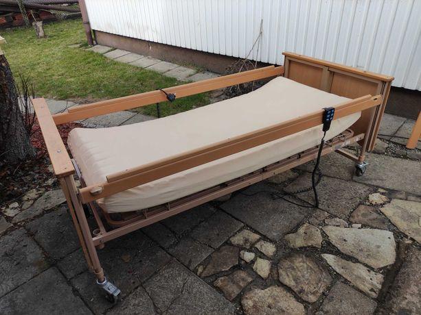 Łóżko rehabilitacyjne z materacem i regulacją