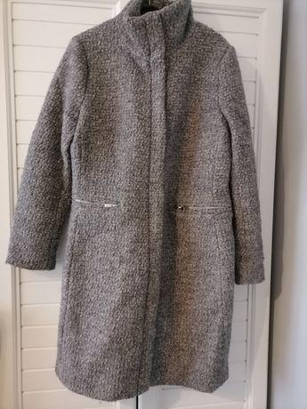 Szary płaszcz H&M
