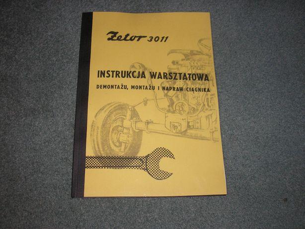 Zetor 3011 - Instrukcja napraw