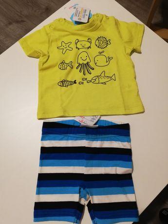 Koszulka i spodenki NOWE Topomini roz 62