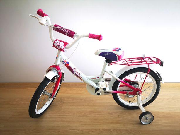 Rowerek dla dziewczynki 16 cali Limber (stan idealny)