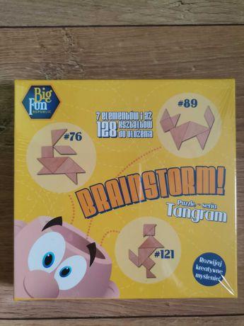 Nowa gra Edukacyjna Brainstorm Tangram - kreatywna Big Fun Republic