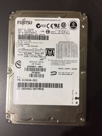 Disco externo Fujitsu SATA 120GB