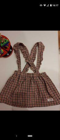 Sukienka na szelkach Newbie 74