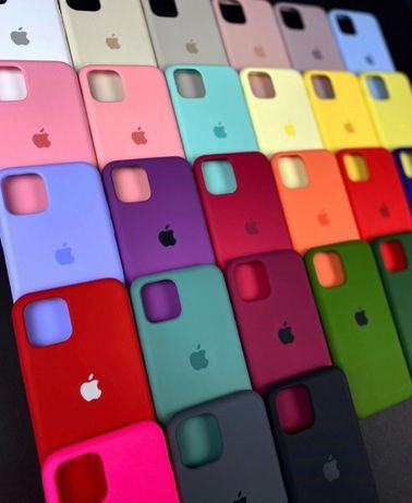 Силиконовый чехол на айфон Iphone 7 8 5 PLUS pro XR MAX 11 Xs SE 6 12