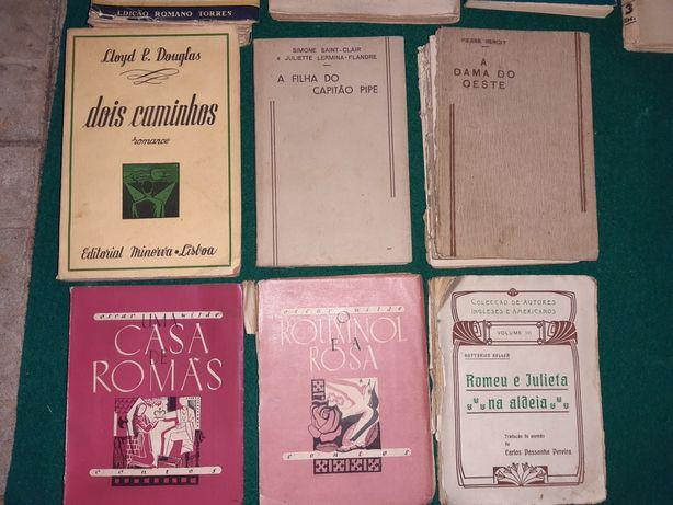 Lote de livros antigos vários temas