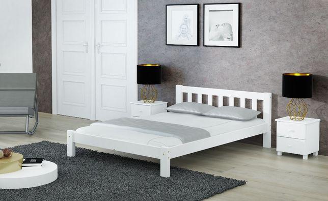 Meble Magnat łóżko drewniane sosnowe Ofelia 140 kolory różne wymiary
