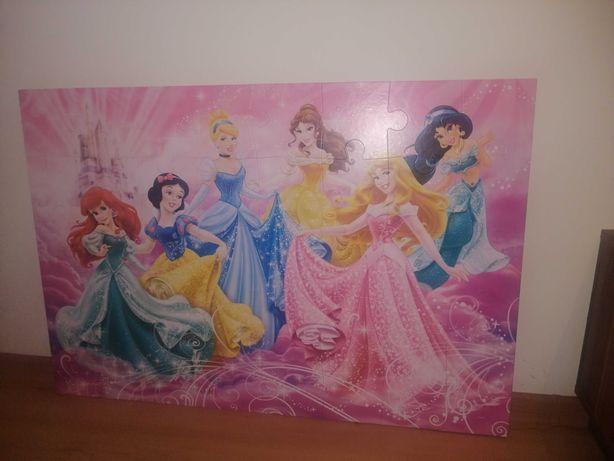 Obraz z puzzli dla dziewczynki