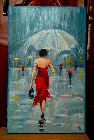 Незнакомка под дождем