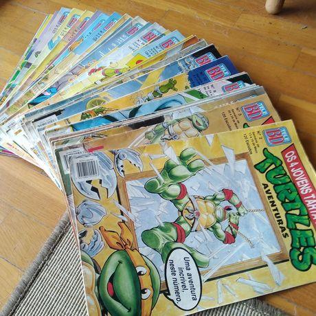 Coleção Tele BD Revistas Tartarugas Ninja TMNT