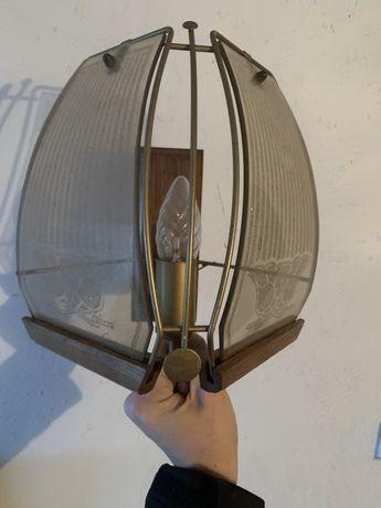 Kinkiet dwa kinkiety lampa