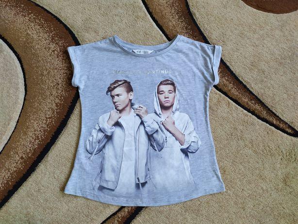 Фирменная футболка H&M