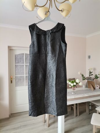 Piękna czarna sukienka Monnari r. 42