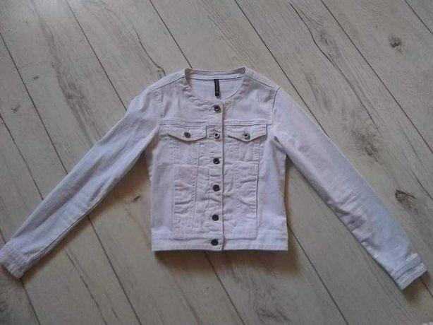 Kurtka jeansowa biała r XS moodo