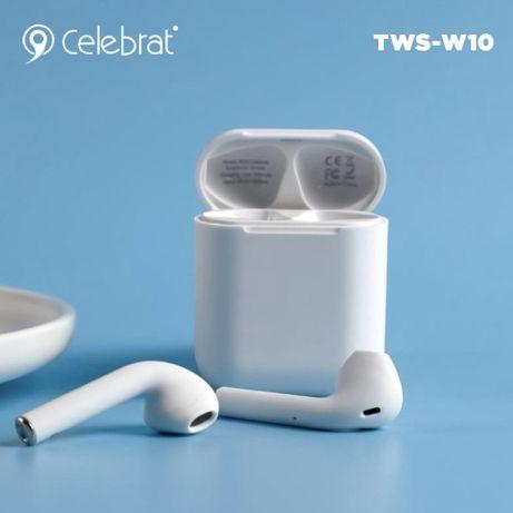 Беспроводные Bluetooth наушники Celebrat W10.Оригинал.Качество.1390руб