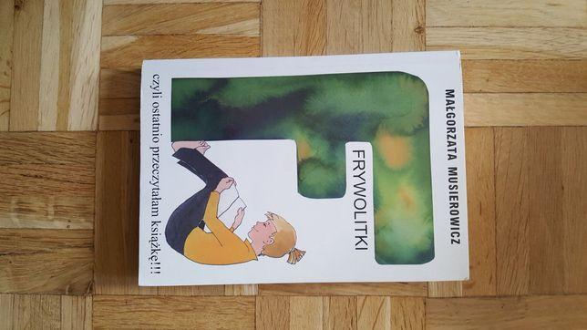 Frywolitki czyli ostatnio przeczytałam książkę M.Musierowicz