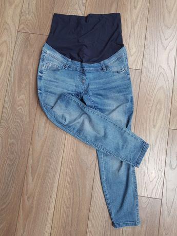 Spodnie jeansy ciążowe