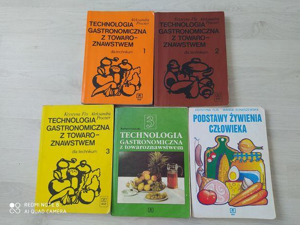 Sprzedam książki do technikum gastronomiczno-hotelarskiego