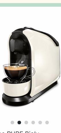 Nowy Ekspres do kawy tchibo cafissimo pure biały