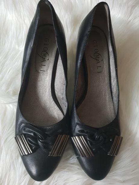 Buty skórzane Giomali, elegancke, rozmiar 40
