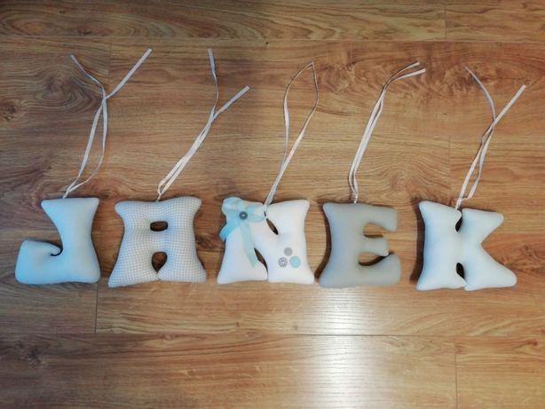 literki, imię Janek zabawa
