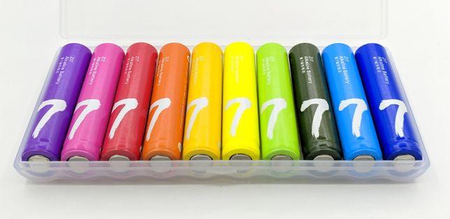 Батарейки Xiaomi ZMI Rainbow Zi7 AAA LR03 10 шт. в упаковке